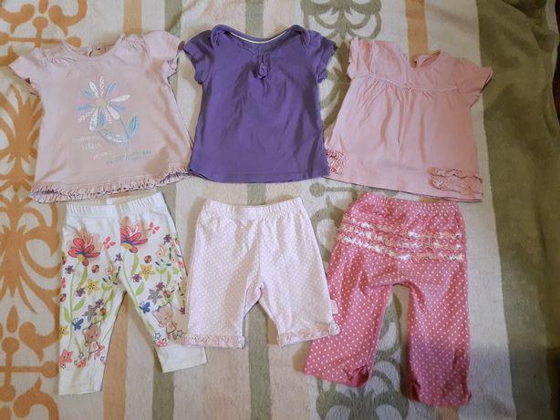 Одежда на девочку от 3 до 6 месяцев