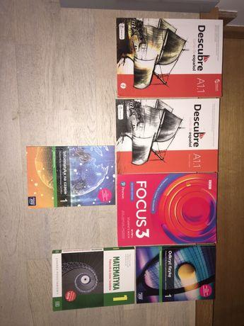 Sprzedam podręczniki do liceum/technikum