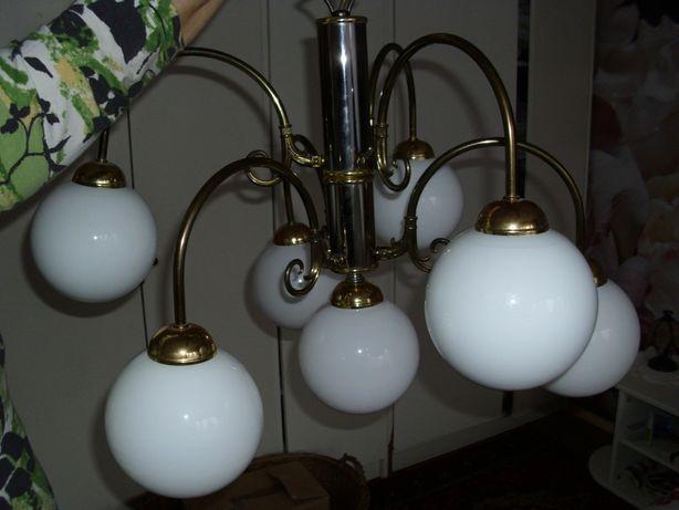 Żyrandol. Lampa . Stan bardzo dobry .Używany.