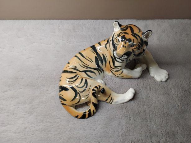 Figurka duży Tygrys Łomonosow USSR