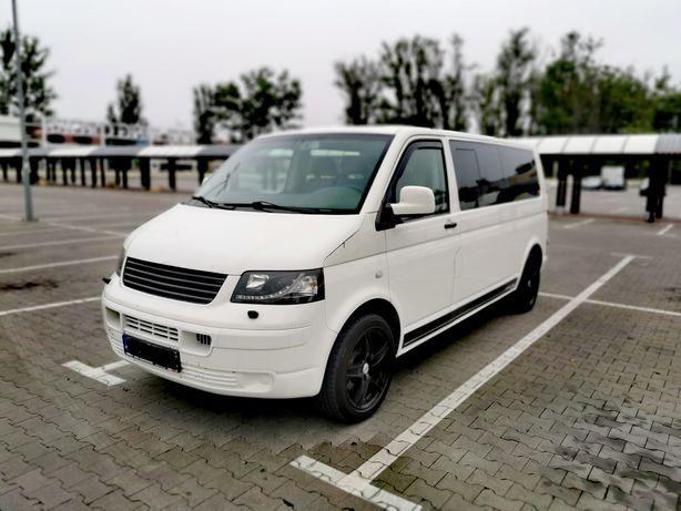Vw - volkswagen T5 2.0 benzyna z gazem - caravelle - long - 9 os.