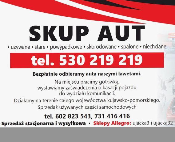 Skup aut Kwidzyń - Złomowanie pojazdów