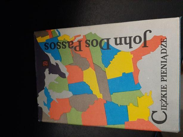 Książka Ciężkie pieniądze John Dos Passos