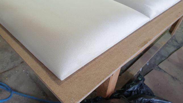 Panele tapicerowane ścianki garderoby wnęki sypialnie na wymiar