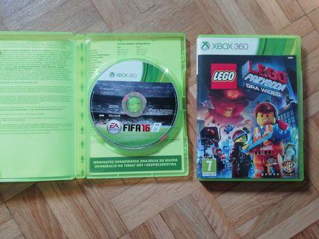 Lego przygoda i fifa 16 Xbox 360