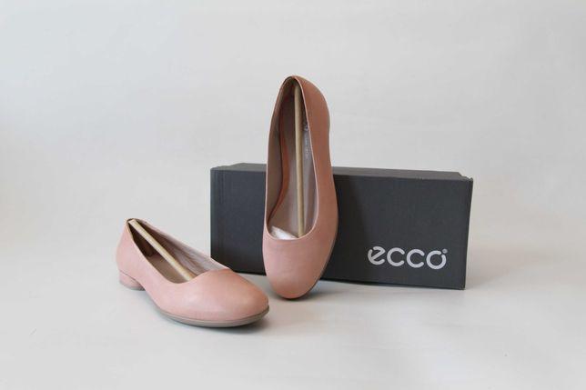 ECCO - skórzane balerinki super stan 37 (23,7 cm)