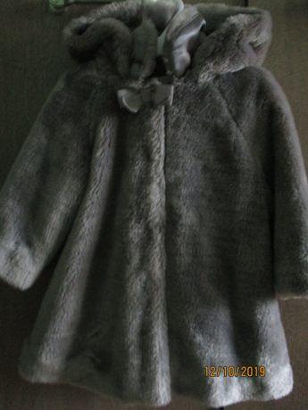 Płaszczyk futerko, 2-3 latka