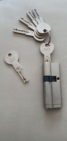 Canhão fechadura de segurança ISEO R6 - chaves completas