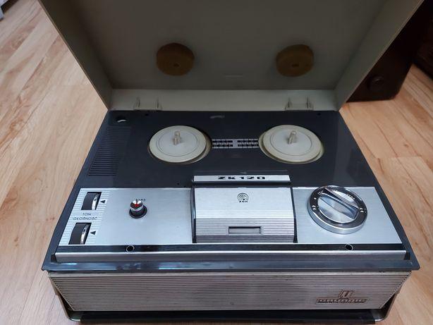 Magnetofon szpulowy Zk120 prl