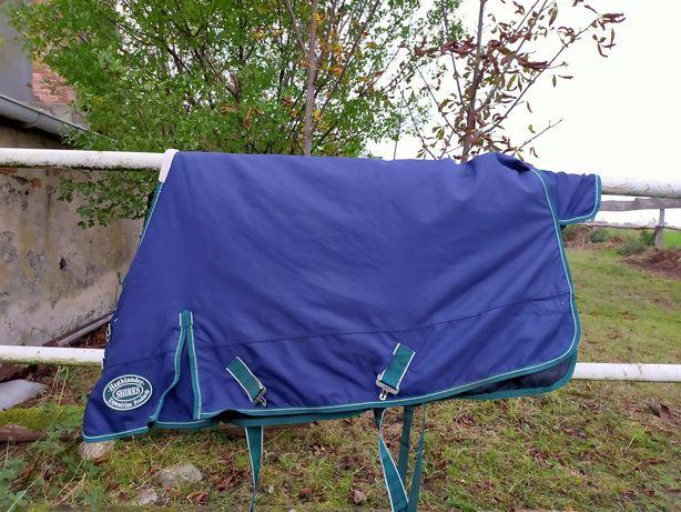 Derka 115cm Shires padokowa przeciwdeszczowa zimowa granatowa pony