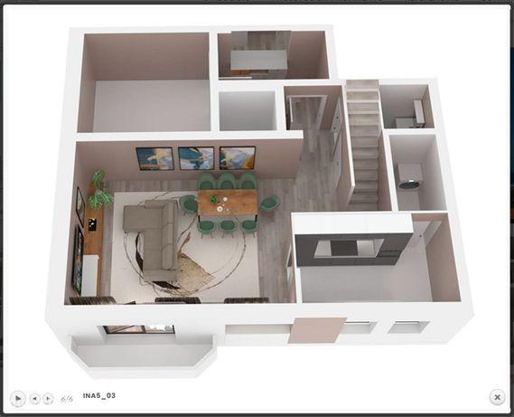 Vende-se apartamento T2 Duplex em Espinho com vistas mar