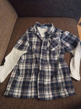 Koszula chlopieca na122cm,wysylka 1zl