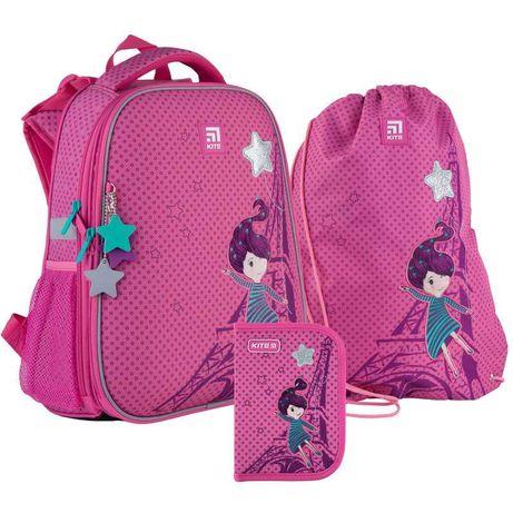 Школьный набор рюкзак + пенал + сумка Kite French dreams K21-531M-5