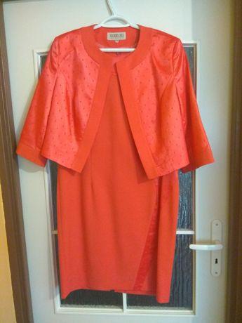 Komplet sukienka plus żakiet
