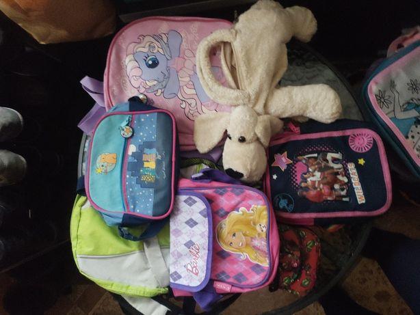 Zestaw torebek i plecaków dla dzieci