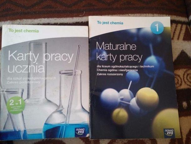 Karty pracy chemia