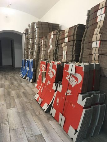 Коробки для кроссовок Фирменные Найк Адидас Пума упаковочная бумага