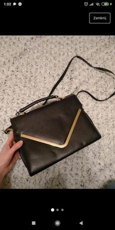 Elegancka czarna torebka
