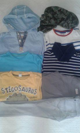 Пакет одежды на мальчика 4-5 лет 104-110 рост 8 вещей