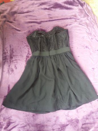Коктейльное корсетное платье