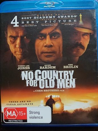 No country for old man na blue ray