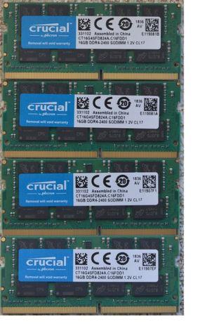 ОПТ 16Gb DDR4 оперативная память для ноутбука 2400 / 2133 / ГАРАНТИЯ