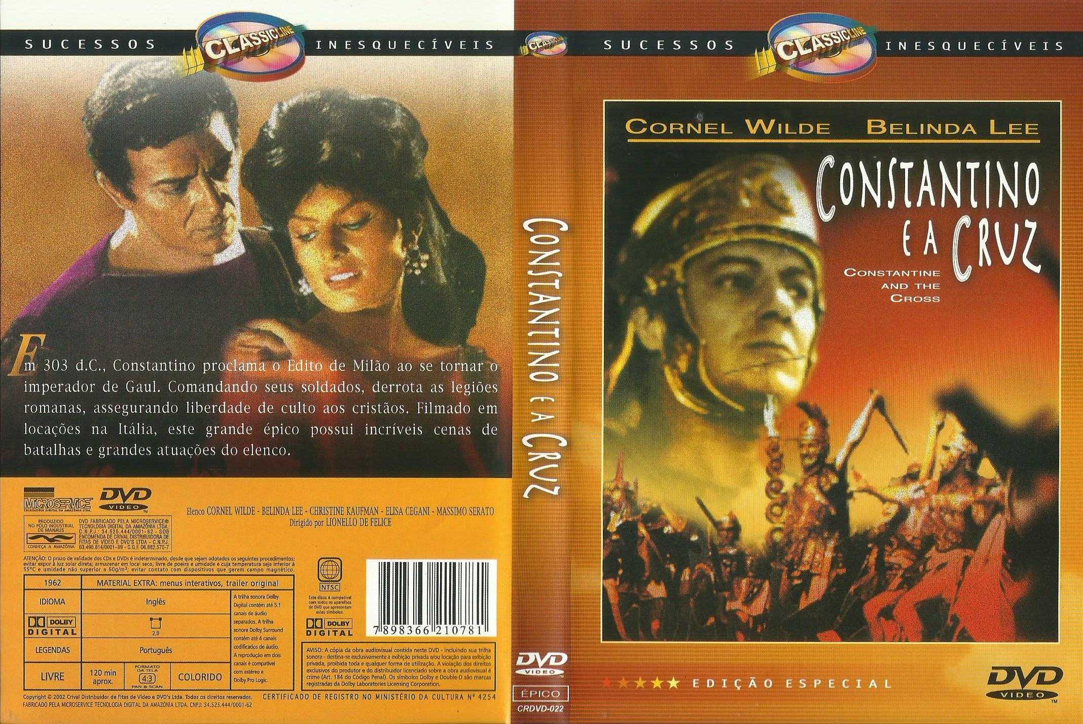 Constantino e a Cruz   (raro)