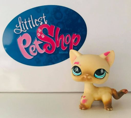 Littlest Pet Shop #816 kot shorthair oryginał LPS