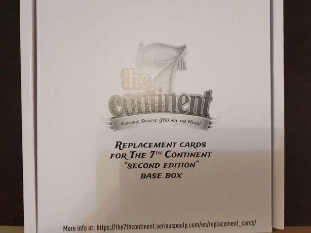 7th Continent oryginalne karty + pudełko