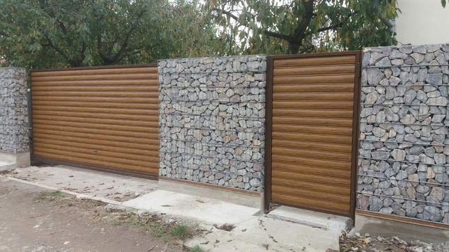 Забор  Габион, жалюзи