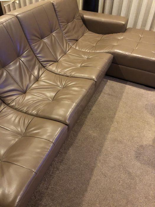 Sofá de 3 lugares com chaise longue Lomar E Arcos - imagem 1