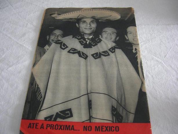 Revista Século Ilustrado com Eusébio 1966
