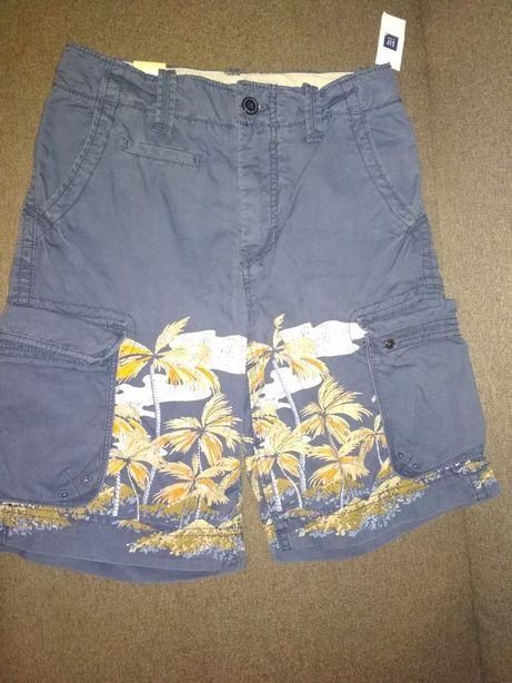 Продам шорты Gap kids на мальчика р 155см