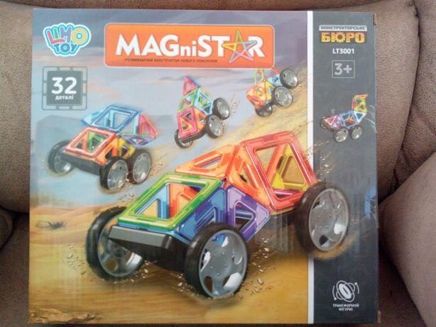 """Магнитный конструктор """"Авто"""" 32 детали, конструктор на магнитах"""