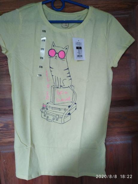 Koszulka dziewczęca Cool Club - nowa