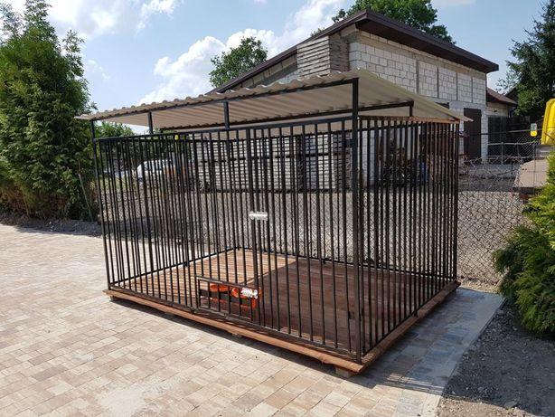 zagroda Klatka kojec Buda dla psa 2x2m Montaż Gratis Solidny i szybko