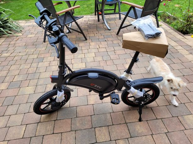 DYU  bike D3-F.  rower elektryczny