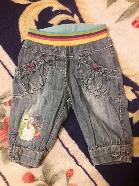 Spodnie jeansy roz. 86