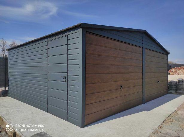 Garaż Blaszany 6x6 6x7 7x7 4x6 8x6 producent. Garaze na Wymiar.