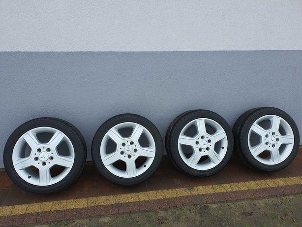 4 Oryginalne felgi 16 Mercedes 6,5Jx16H2 ET56 + opony gratis