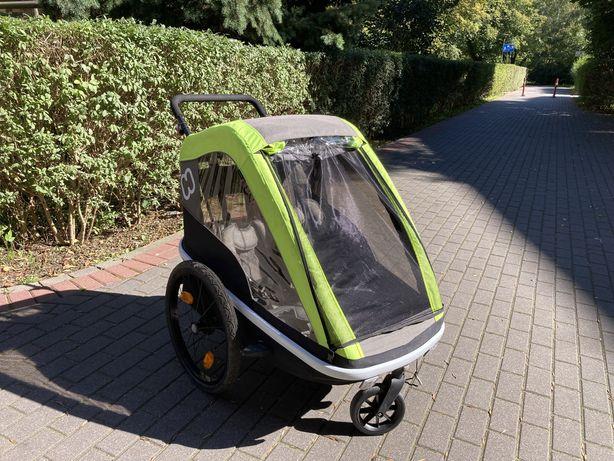 Przyczepka rowerowa, wózek Hamax AVENIDA - dla dwójki dzieci!