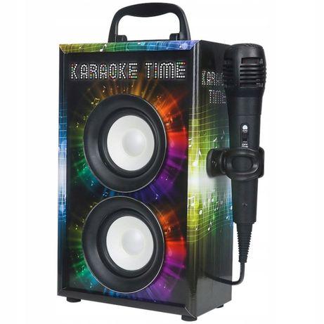 Głośnik karaoke Bluetooth mikrofon GŁOŚNIK