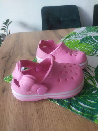 Klapki laczki dziewczęce sandały