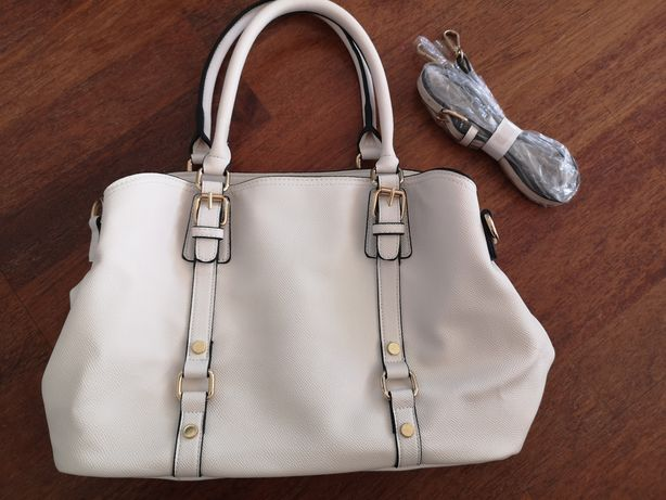Orsay torebka ecru biała torba kremowa na ramię do ręki jak nowa