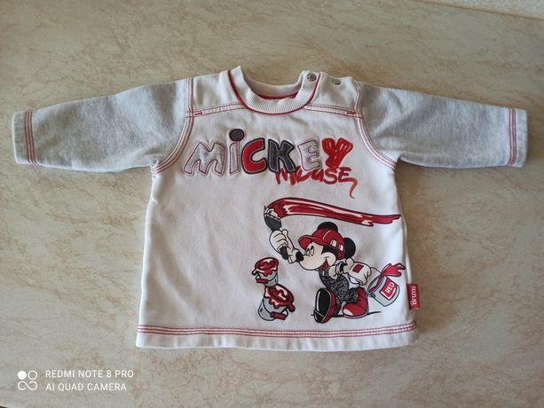 Свитшот теплый Disney 9М Mickey Mouse реглан свитер кофта Микки Маус