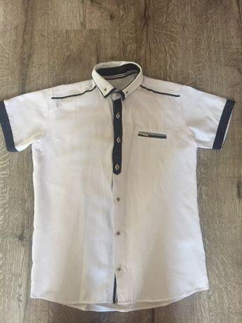Koszlka biała wizytowa rozmiar 146