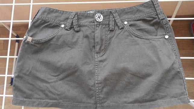 Короткая юбка House из плотной натуральной ткани