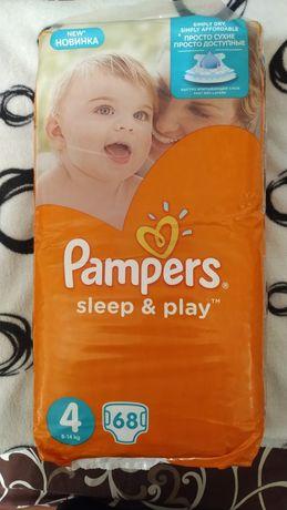 Подгузники Pampers Sleep&Play 4