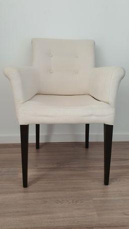 Cadeiras com apoio para braços, de mesa de jantar/sala
