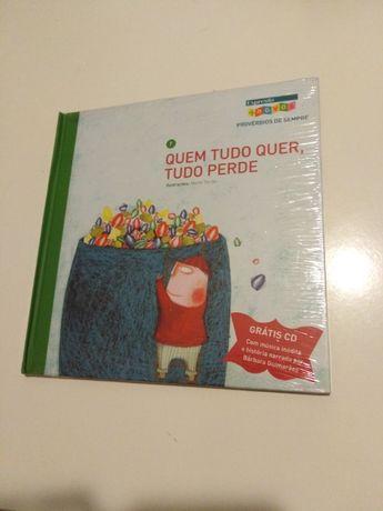 Livros Infantis Provérbios de Sempre + CDs